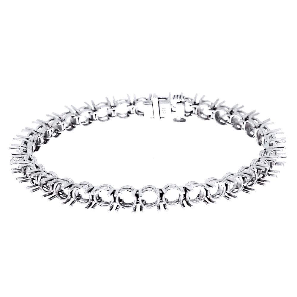 View FOUR PRONG DOUBLE WIRE BRACELET