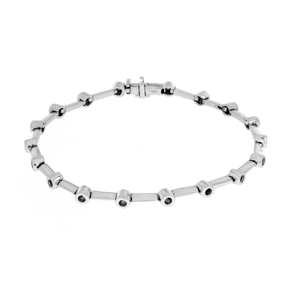 View BEZEL BAR BRACELET